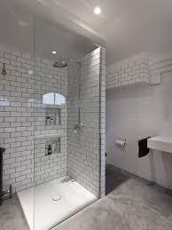Concrete Floor Bathroom - poured concrete floor houzz