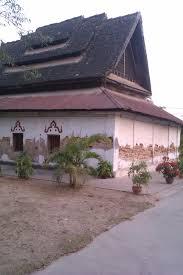 lovely temple in ratanaburi surin thailand thailand