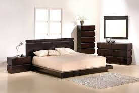 bedroom platform bed with drawers and headboard bedroom