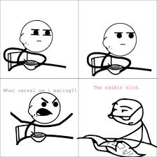 Eating Cereal Meme - 罌 imprimer personnages c罠l罟bres troll face cereal guy num罠ro