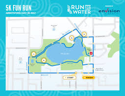 Map Run Route by Run Run For Water
