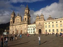 Bogota Colombia Map South America by 13km Walking Guide Of Bogota Colombia