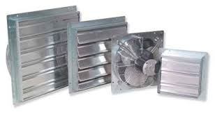 greenhouse exhaust fans with thermostat florian greenhouse louver intake fans