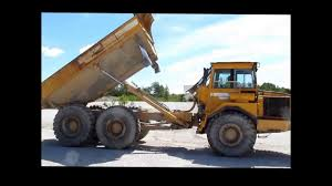 volvo haul trucks for sale volvo a25c articulated haul truck for sale sold at auction june 27