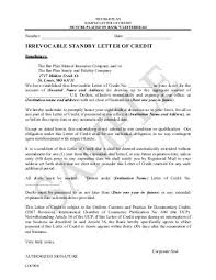 letter of credit sample 5 a letter of credit import export guide