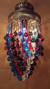 Turkish Chandelier Teardrop Glass Chandelier Ceiling Lighting Fixture Ltastic