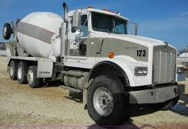 kenworth concrete truck 1996 kenworth w900 cement mixer truck item 5153 sold ma