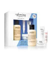 and glow philosophy a glowing regimen trial set hydrate and glow team