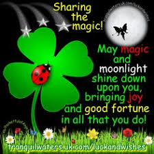 magic abundance blessing moonlight magic image