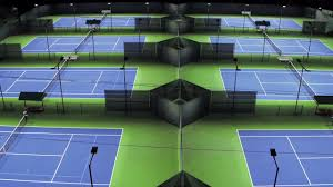 Outdoor Court Lighting by Outdoor Led Tennis Lighting By Brite Court Tennis Lighting Youtube