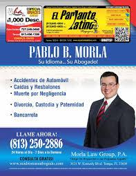 lexus of tampa bay on sligh ave el parlante latino magazine ed 162 by el parlante latino magazine