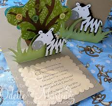 african safari party birthday invites