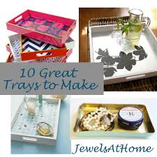 Trays For Coffee Table by Diy Decorative Trays U2013 Ten Great Ideas Jewels At Home