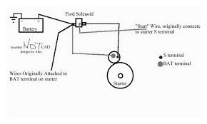 chevy starter wiring diagram u0026 how to wire up a starter on ls swap