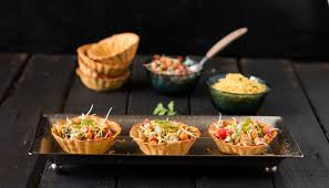 cuisine canapé canape papdi chaat recipe by archana s kitchen