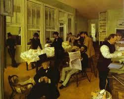 la nuit au bureau edward hopper painters of the impressionism period by canvas replicas