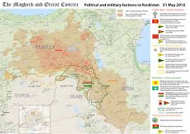 arab countries map arab world map kurdistan political and factions in within