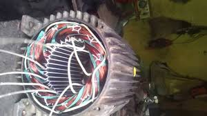 without joint connection three phase electric motor all in winding