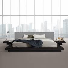 Black Platform Bed Frame Black Platform Bed Frame Na Ryby Info