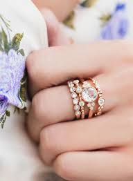 stackable engagement rings best 25 stackable rings ideas on stacking rings