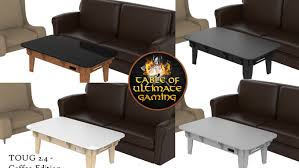 Gaming Coffee Table Table Of Ultimate Gaming The Ultimate Game Table By Wood Robot