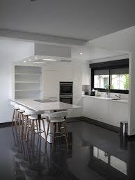 cuisine blanc laqué cuisine lineaquattro blanche