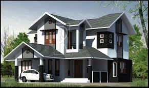 Kerala Style Home Exterior Design by Modern Kerala House Exterior Designs
