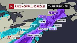 Boston Snow Total Map by Winter Storm Pax Forecast Ice Rain Snow For D C Virginia