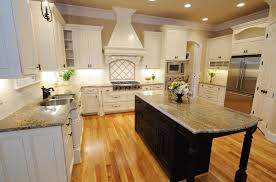 dark kitchen cabinets with white island ellajanegoeppinger com