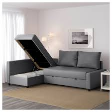friheten corner sofa bed with storage skiftebo gray ikea