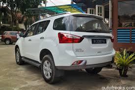 mitsubishi pajero malaysia isuzu mu x launched in malaysia yours for rm151 944 onwards