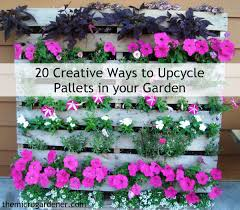 Diy Vertical Pallet Garden - 20 creative ways to upcycle pallets in your garden the micro
