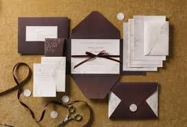 brides wedding invitation kits brides chocolate pocket invite kit uline boxes buy sell