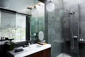 dark bathroom ideas small bathroom design ideas large dark stone tile flooring long