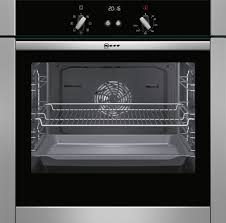 neff b44m42n5gb stainless steel electric slide u0026 hide single oven