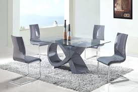 glass dining room sets fashionable glass dining room tables homewhiz the