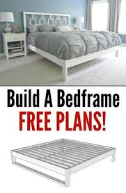 Simple King Size Bed Frame by Diy King Size Bed Free Plans King Size Decoration And Free