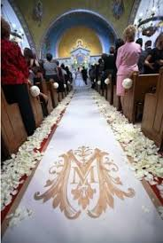 aisle runner wedding who walks on the wedding aisle runner larry