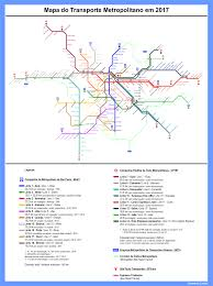 Metro Rail Map by