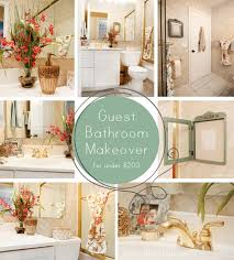 Bathroom Makeover On A Budget - guest bathroom makeover how to nest for less