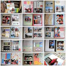 vacation photo albums and tell scrapbooking projects mini books