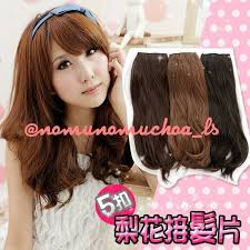 jual hair clip hairclip extension elevenia