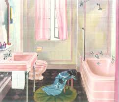Crane Bathroom Fixtures The Color Pink In Bathroom Sinks Tubs And Toilets From 1927