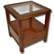 Yew Side Table Marshbeck Yew Mahogany Reproduction Furniture Side L Tables