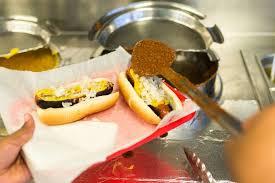 the bun the chili half smoke at ben s chili bowl in dc eater