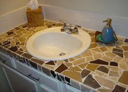 diy tile mosaic bathroom vanity bathrooms bob vila u0027s picks