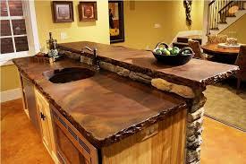 unique kitchen countertop ideas rustic wood kitchen countertops wood kitchen counter