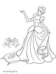 disney princess cinderella portrait coloring cinderella