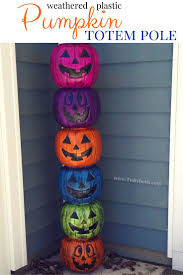 Fun Halloween Decoration Ideas Best 25 Plastic Pumpkins Ideas On Pinterest Fake Pumpkins