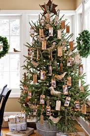 buy brown christmas tree 60 best christmas tree decorating ideas how to decorate a